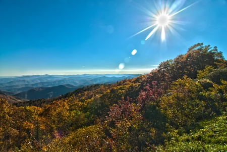 blue ridge mountains north carolina photo