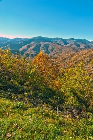 blue ridge mountains north carolina photo