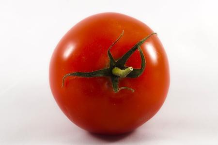 red Tomato isolated on white background  Stock Photo