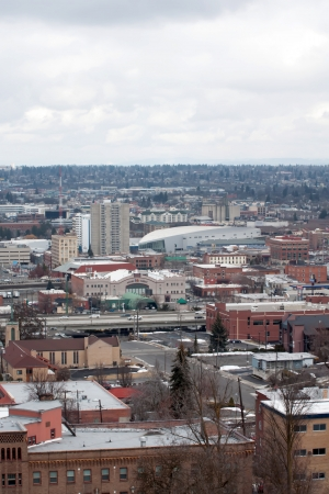 spokane city Stock Photo