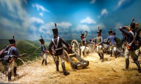 남북 전쟁 재연 수치 스톡 콘텐츠