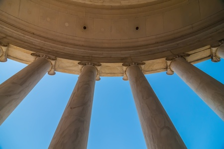 neoclassical ionic architectural details