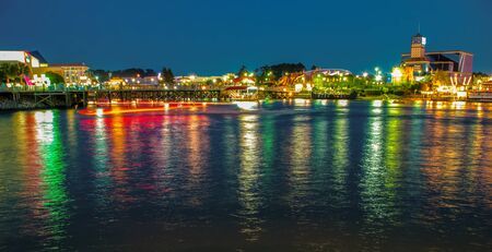 evening scenes on the grand strand at myrtle beach Stock Photo