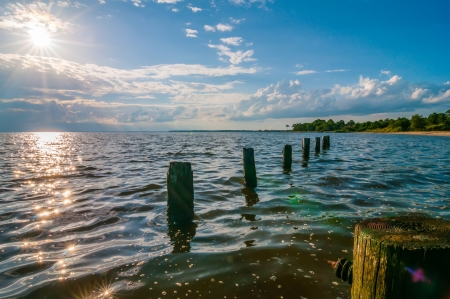 destin: water life and beach scenes at destin florida Stock Photo
