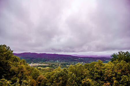 mountain landscapes in virginia state around roanoke Stock Photo - 22910456