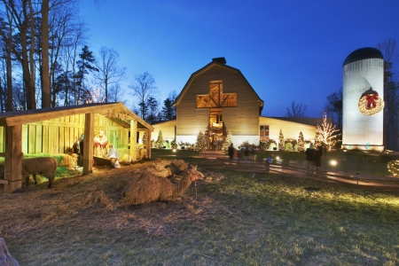 graham: billy graham library at christmas