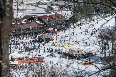 hardwoods: appalachian mountain ski resort near blowing rock
