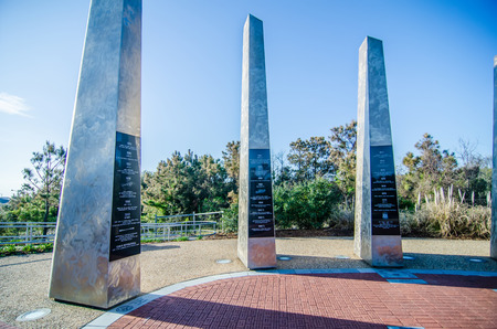 nc: monument to century of flight at kytty hawk nc