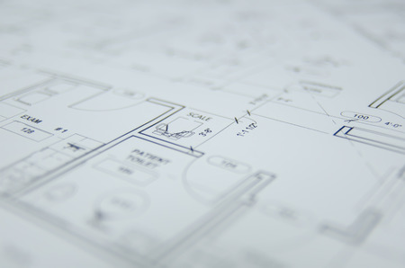 architect drawing: architectural drawing background Stock Photo