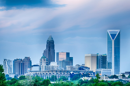 uptown: looking at charlotte the queen city financial district