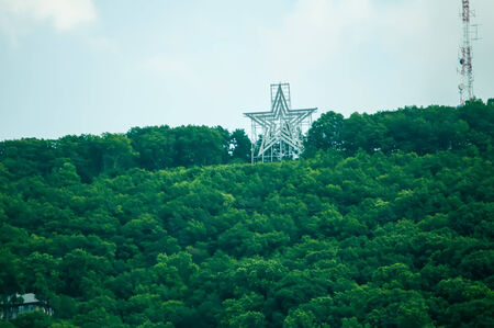 mill valley: big star of a star city roanoke virginia Stock Photo