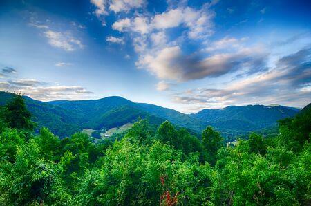 indian creek: valley near maggie valley north carolina
