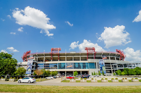 titans: June 20, 2014. The stadium is the home field of the NFLs Tennessee Titans and the Tennessee State University Tigers.