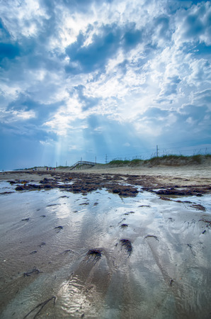 hatteras: Cape Hatteras National Seashore on Hatteras Island North Carolina USA