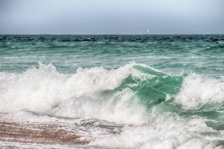 Atlantischen Ozean am Kap Hatteras North Carolina Lizenzfreie Bilder