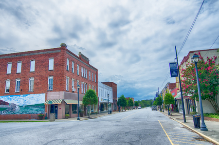 plymouth: plymouth town north carolina street scenes Editorial