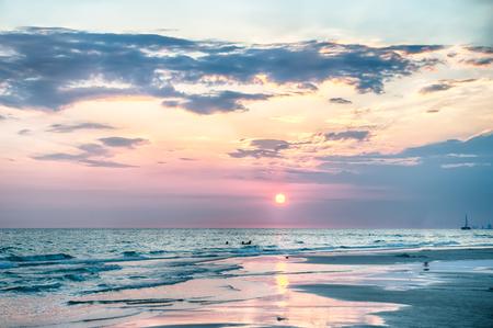Sunset ongulf of mexico Florida Beach