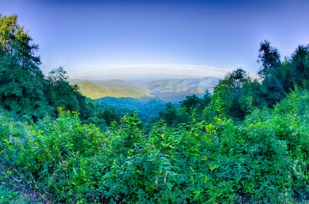 wnc: Blue Ridge Parkway National Park Sunset Scenic Mountains summer Landscape