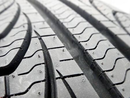 tire tread: tire tread closeup in a tire shop