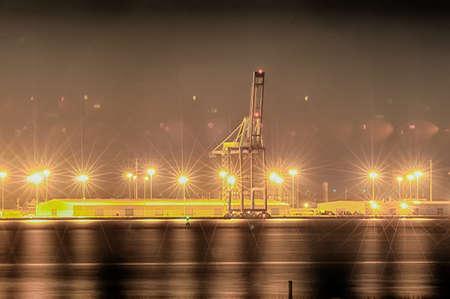sc: Industrial shipping port or Cargo sea port of charleston SC