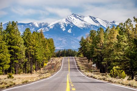 ハンフリーズ ピーク高いアリゾナ州を風景します。