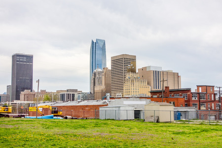 okla oklahoma city skyline