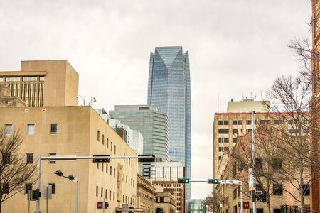 oklahoma city: okla oklahoma city skyline
