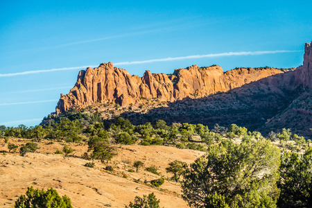 anasazi ruins: Navajo National Monument canyons Stock Photo