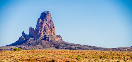 el capitan: El Capitan Peak just north of Kayenta Arizona in Monument Valley