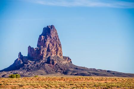 el capitan: El Capitan Peak just north of Kayenta Arizona in Monument Valley