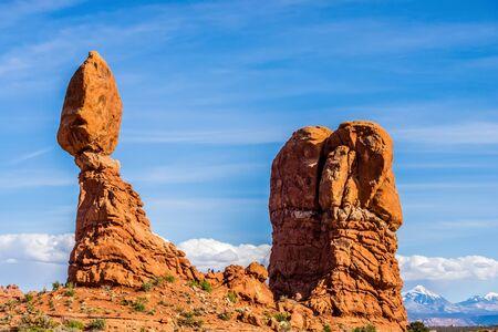 Arches National Park  Moab  Utah  USA photo