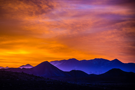 sunrise over colorado rocky mountains 版權商用圖片 - 39158180