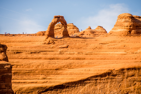 delicate: famous Delicate Arch in Arches National Park