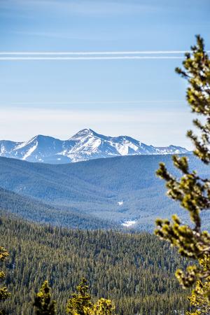 colorado rocky mountains near monarch pass