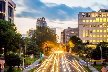 charlotte: Downtown of Charlotte  North Carolina skyline