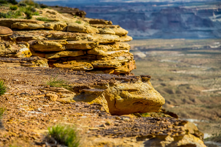 canyons: landscape scenes near lake powell and surrounding canyons Stock Photo
