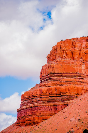 land slide: landscapes near abra kanabra and zion national park in utah Stock Photo