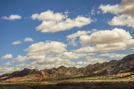 landscape scenes near lake powell and surrounding canyons Stock Photo
