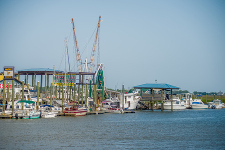 fishing boats: boats and fishing boats in the harbor marina