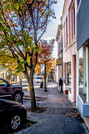 chester: historic southern city of chester south carolina Editorial
