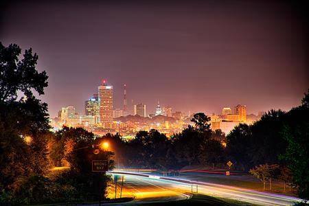 nightime: nightime long exposure near columbia south carolina