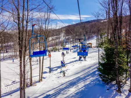 west virginia trees: scenery around timberline ski resort west virginia Editorial