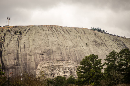 Monument to the Confederacy at Stone Mountain