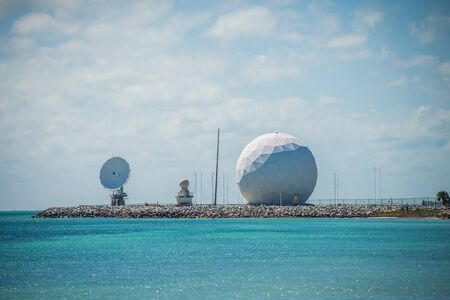 faa: radar dome technology on the sea coast
