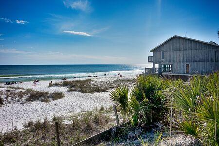 destin: destin florida beach scenes Stock Photo