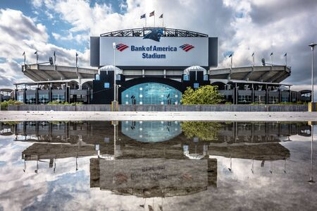 nfl: charlotte, nc - April 12 , 2016 - panthers nfl stadium