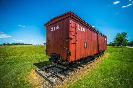 caboose: big red caboose wagon