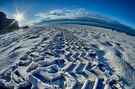 boundless: sunrise at the florida beach