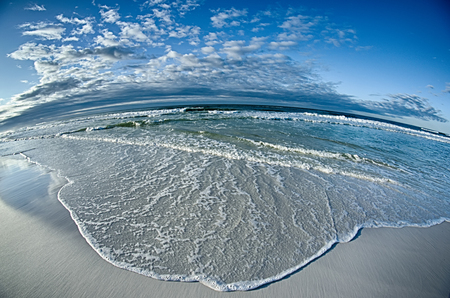pensacola beach: sunrise at the florida beach