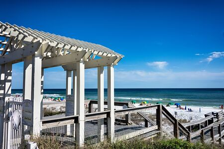 florida beach: destin florida beach scenes Stock Photo
